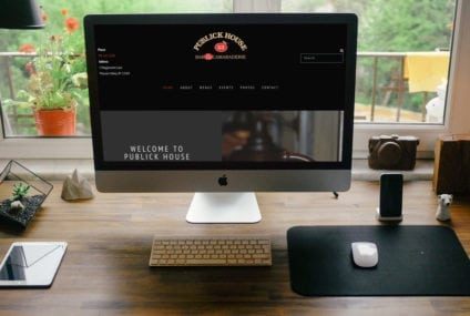 Publick House 23 Website Design