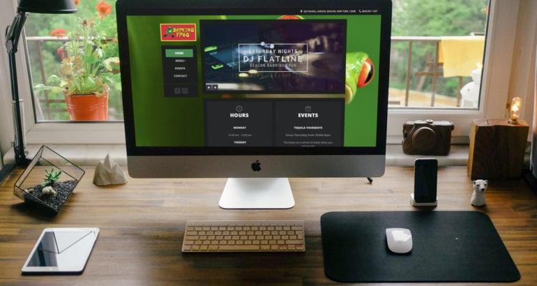 Beacon Barking Frog Website