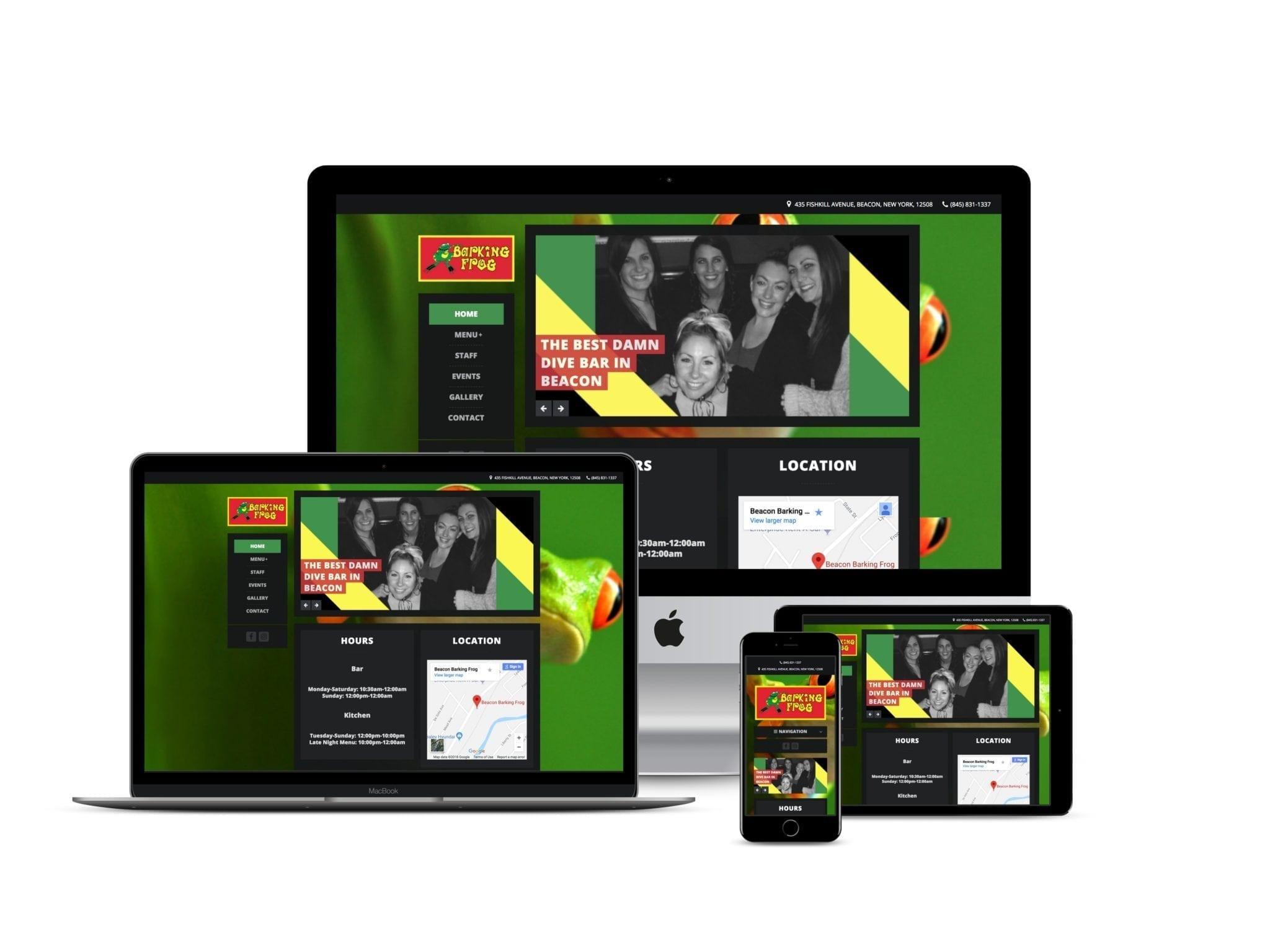 Beacon NY Website Design
