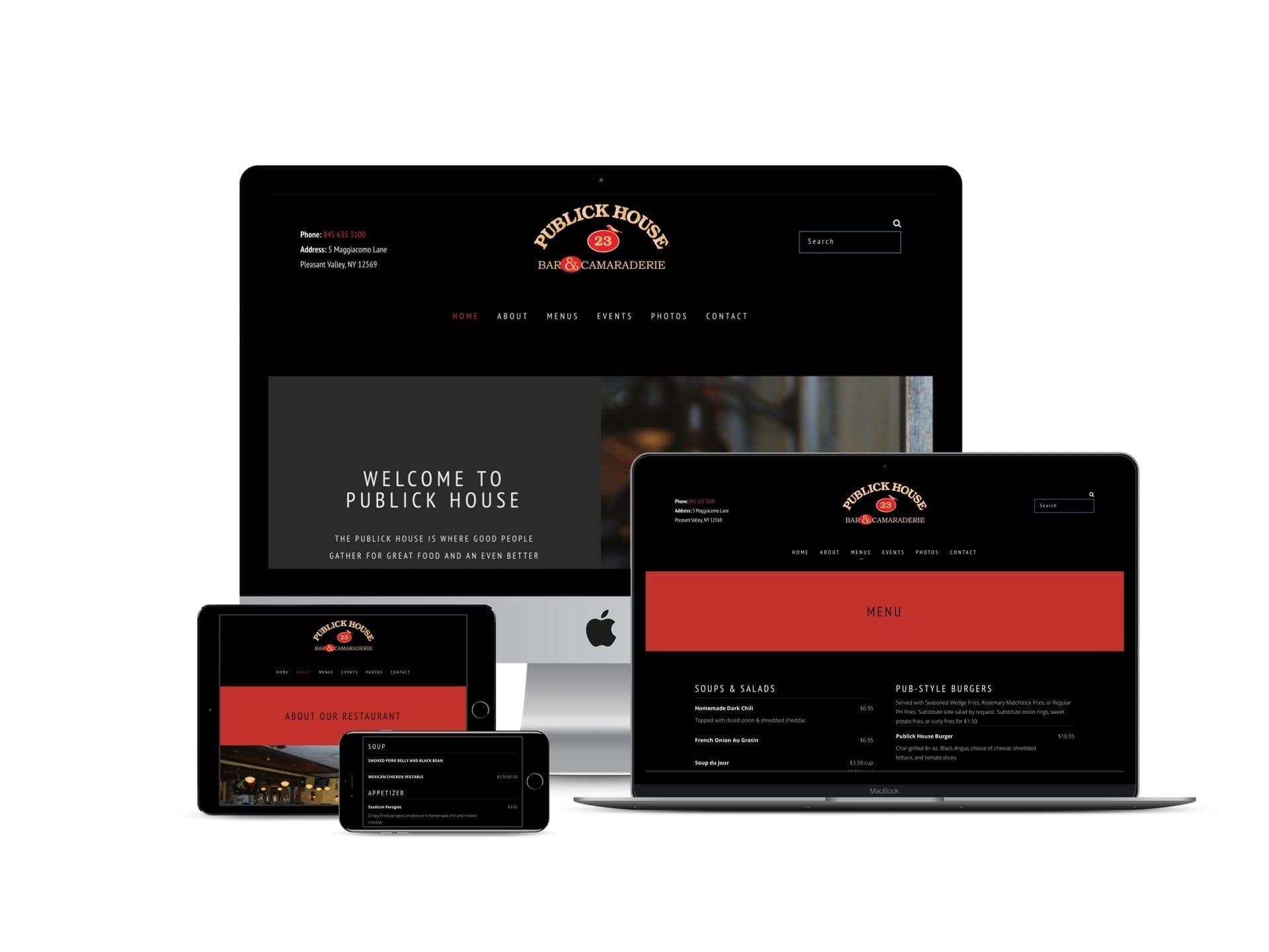 Pleasant Valley Website Design