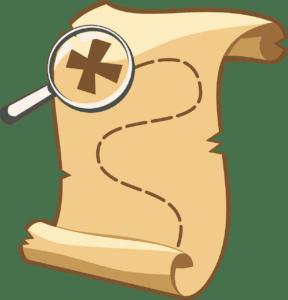 404 Error Treasure Map