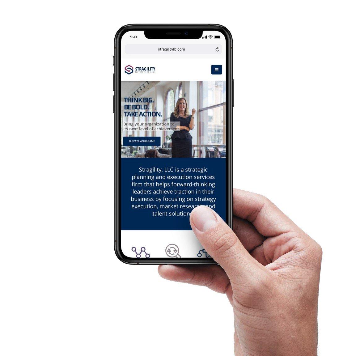 Mobile First Website Design