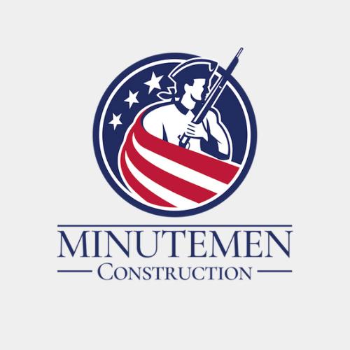 Minutemen Construction Company Logo