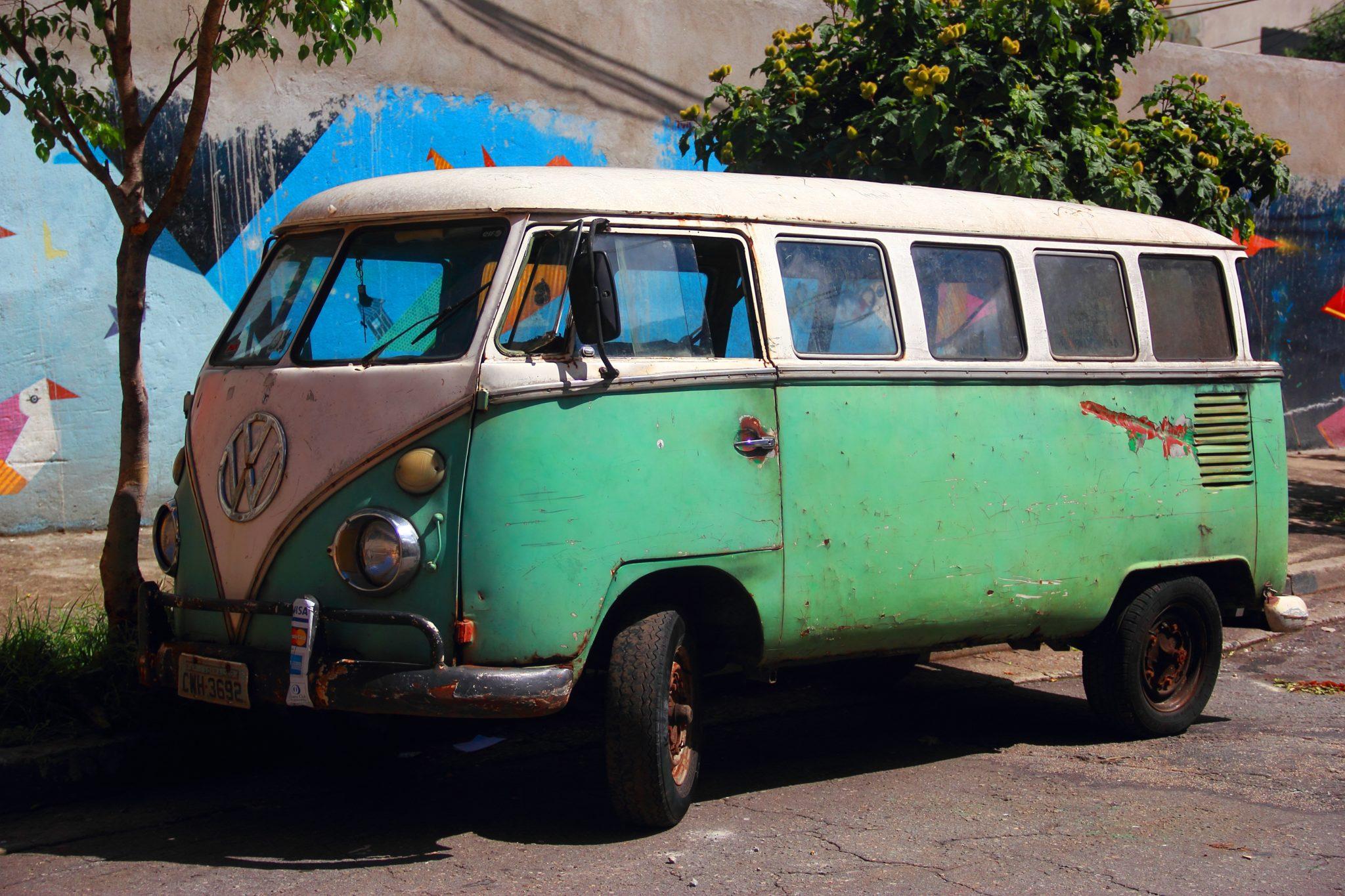 VW Vanagon Woodstock 50