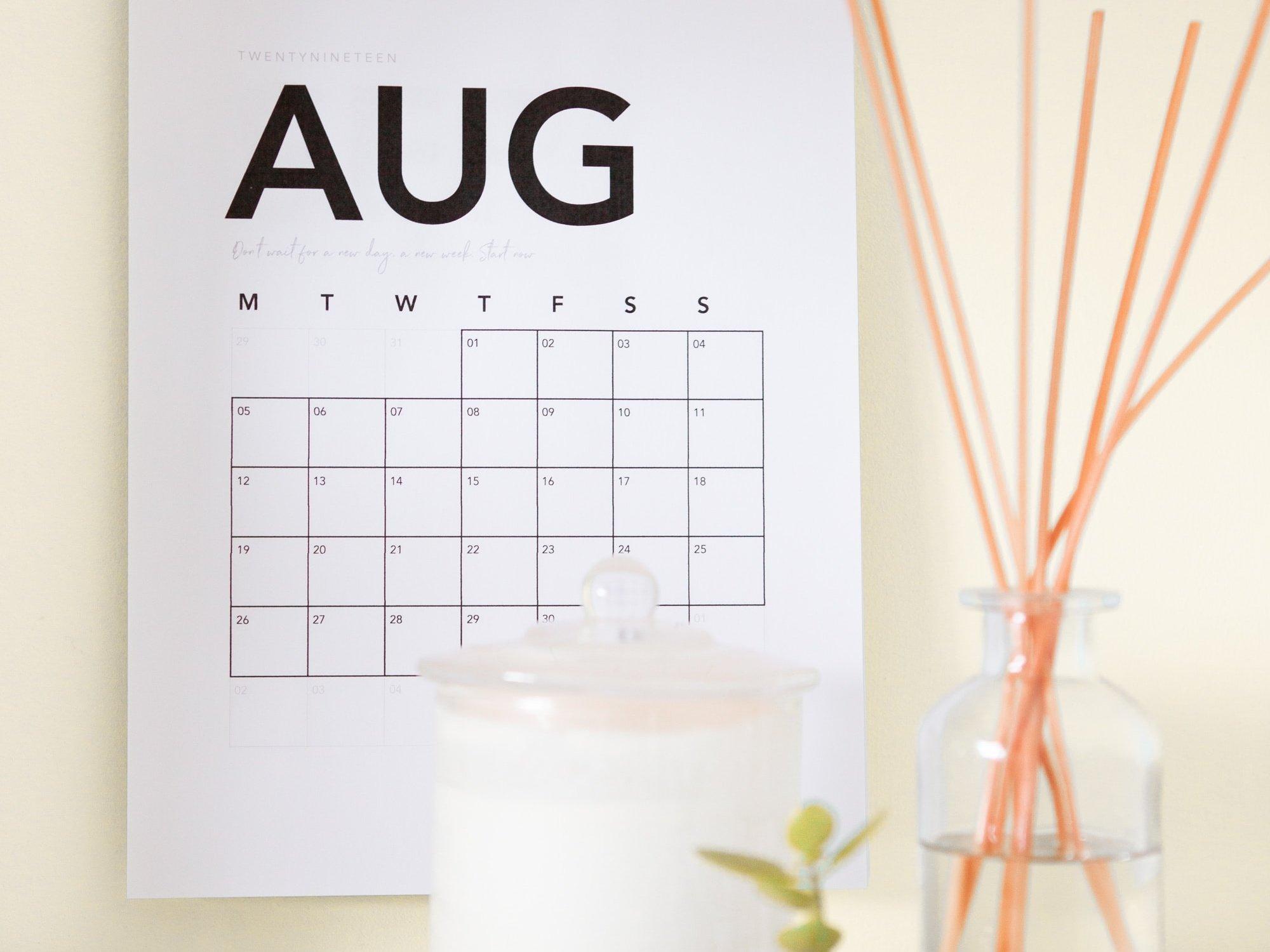 August Social Media Holidays