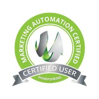 SharpSpring Certified User Badge