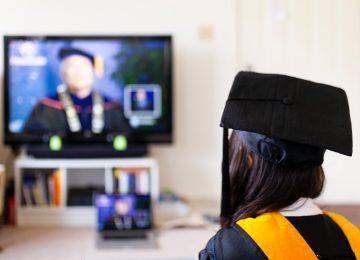 Virtual Online Graduation Event